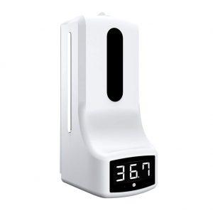 Диспенсър с измерване на температура